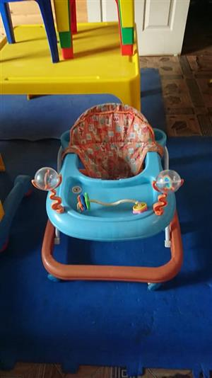 Blue and orange walking ring for sale