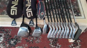 Ping Golf Club Set & Bag