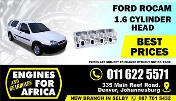 New Ford Bantam Rocam 1.6L Cylinder Head Bare FOR SALE
