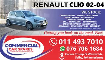 Renault Clio 2002 Parts and spares for sale