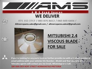 MITSUBISHI 2.4 VISCOUS BLADE