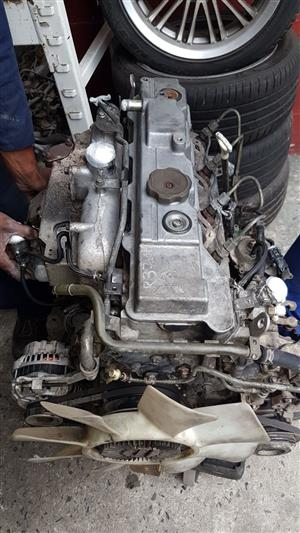 Mitsubishi Colt 2.8 turbo 4M40 engine for sale.