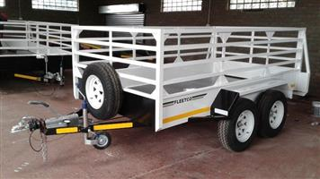 3M DOUBLE AXLE UTILITY TRAILER FOR SALE, BRAND NEW ALL INCLUDED