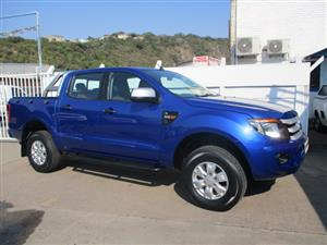 2013 Ford Ranger 2.2 double cab Hi Rider XLS