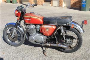1971 Honda NC750X
