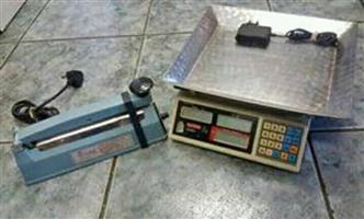 Scale Avery Berkel   Model : DZ-342  Including sealer for free   In prestine working condition
