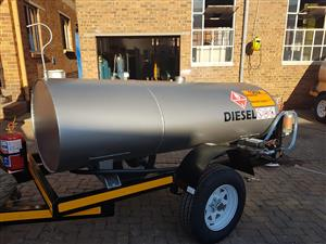 1500 liters Tanker
