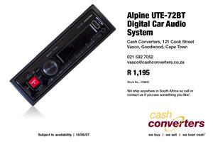 Alpine UTE-72BT Digital Car Audio System