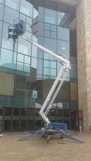 VerticalZA Cherry Picker Nifty 170HACT - 17m Portable, TRAILER-MOUNTED Manlift