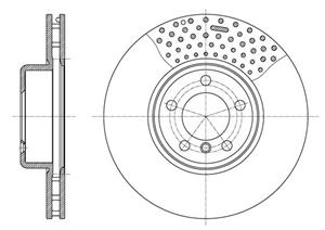 BMW ( F20,21,30,31) Sportspack Front Brake Discs ( 340 mm) Available At Voxwagen, Lenasia.
