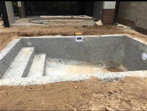 2mx2m fiberglass and marbelite pools