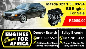 Used Mazda 323 B5 1.5L 89-94 Engine For Sale