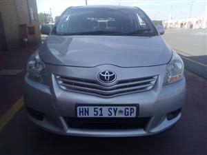 2011 Toyota Corolla Verso 160 SX