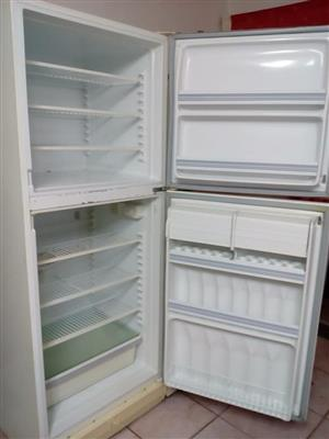 Fridge with deep freezer