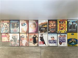 Multiple DVDs For Sale