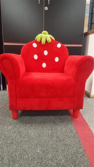 Strawberry Chair Kids Furniture