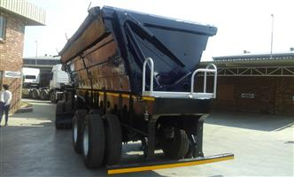 34 ton side tipper trailers on low prices