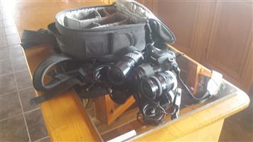 Sony DSLR -A200 Camera