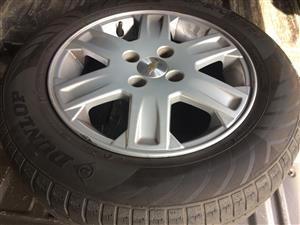 "14"" Original Chev Utility Mags and Tyres"