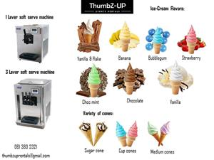 Ice cream Machine for hire