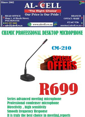 Chamic Professional Desktop Microphone For P.A System