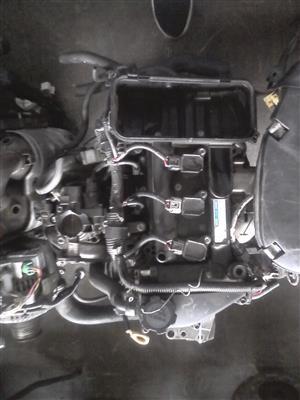 Toyota Yaris 1.0 1KR engine for sale