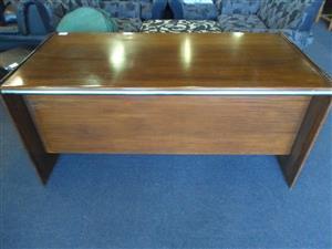 Dark Brown Wooden Desk