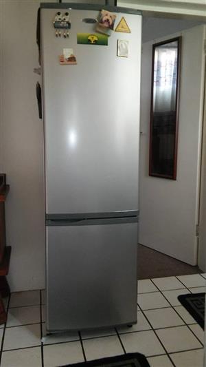 Defy fridge freezer silver metallic