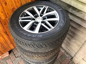 """Toyota 18"""" Mags and tyres"""