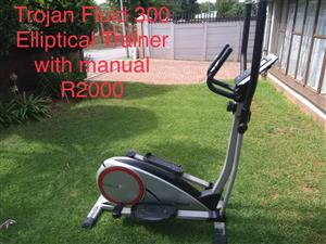 Trojan Fluid 300 Elliptical Trainer incl manual - As New