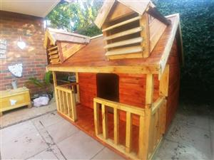 Wendy houses and log home for sale