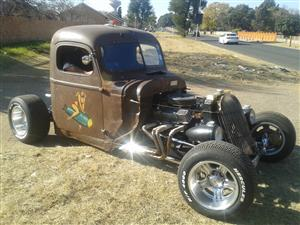 42 Chevy rat rod manual with tilt trailer