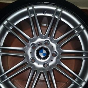 "Bmw e90 OEM ""18"" Rims and Tyres"