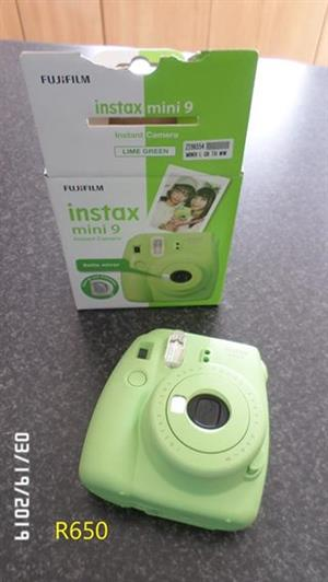 Instant camera for sale