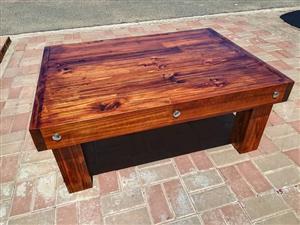 Handmade coffee table 1100 x 800 (brand new)