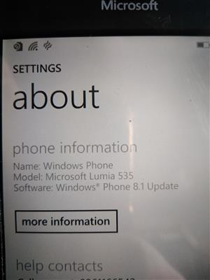 Microsoft cellphone for sale with new screen.