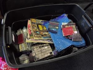 Mosaic Kit, Books and Tools