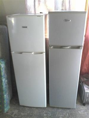 2 Fridges with freezers