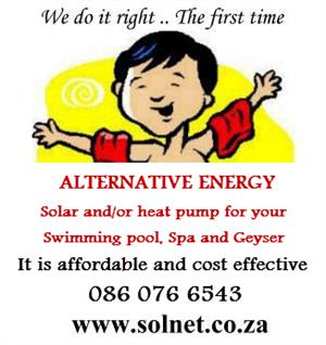 Absolute must have - Solar heating