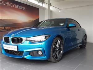 2017 BMW 4 Series convertible 420i CONVERT M SPORT A/T (F33)