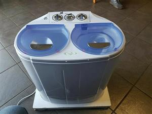 Camping twintub washing machine 3kg washer, 2kg spinner