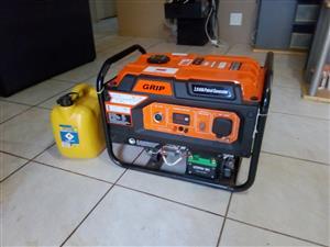 GRIP 2.8kva Petrol Generator