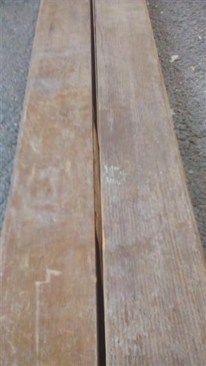 83mm reclaimed Oregon pine floorboards