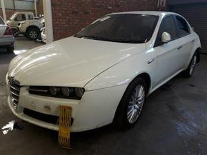 2013 Alfa Romeo 159 3.2 Q4 Distinctive Accident Damaged
