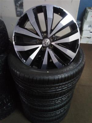 Vw amarok 20 inch mags with brand new tyres 255/50/20 Bridgestone dueler HP set combo.