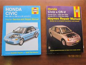 Service and Repair Manuals