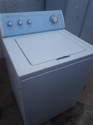 Whirlpool x2 Industrial Top Loaders for sale