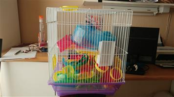 2x hamster cages