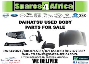 DAIHATSU USED BODY PARTS FOR SALE