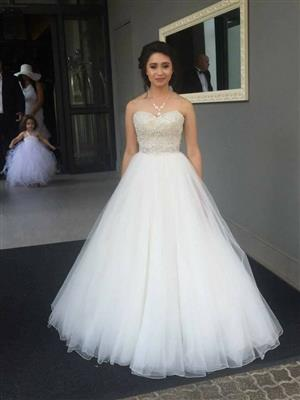 Designer Wedding dress for sale